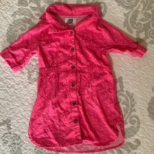 Cotton Pink Toddler Dress